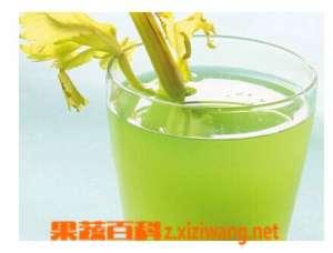 西芹汁的做法和功效